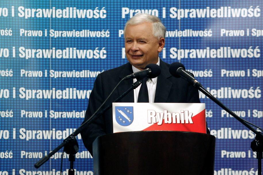 Prezes PiS Jarosław Kaczyński /Andrzej Grygiel   (PAP) /PAP