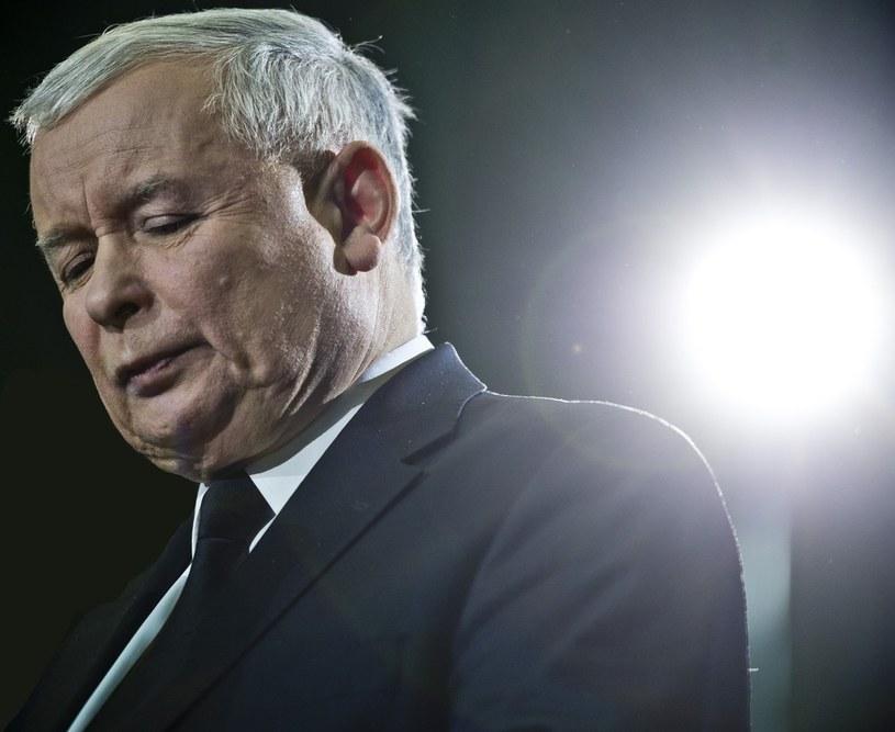 Prezes PiS Jarosław Kaczyński /Piotr Tracz /Reporter