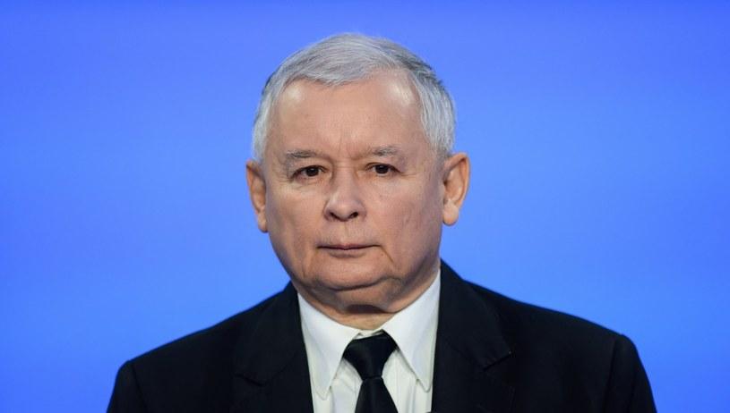 Prezes PiS Jarosław Kaczyński /Piotr Bławicki /East News
