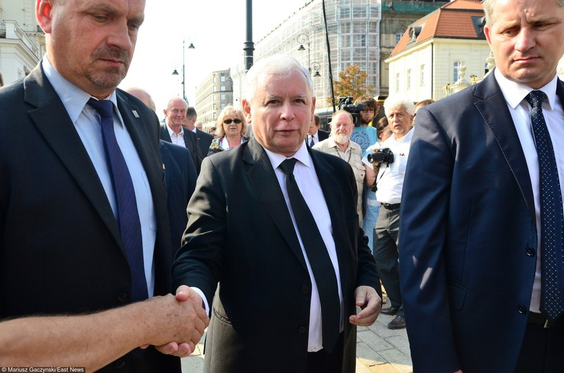 Prezes PiS Jarosław Kaczyński /Mariusz Gaczyński /East News