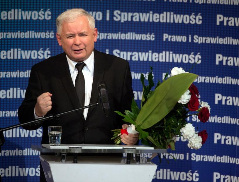 Prezes PiS Jarosław Kaczyński /Grzegorz Michałowski /PAP