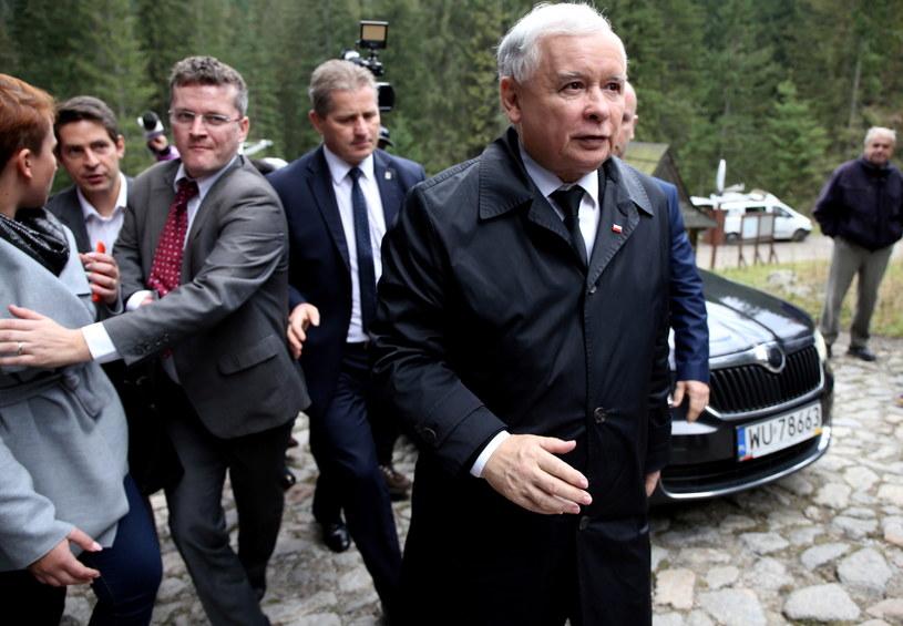 Prezes PiS Jarosław Kaczyński /Grzegorz Momot /PAP