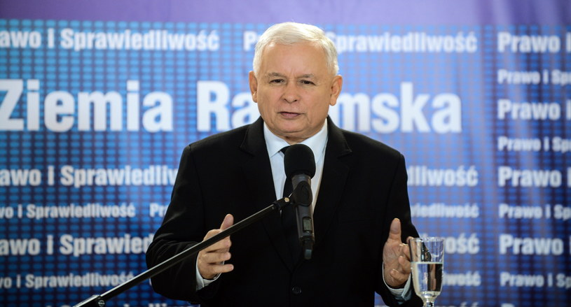 Prezes PiS Jarosław Kaczyński /Jakub Kamiński   /PAP