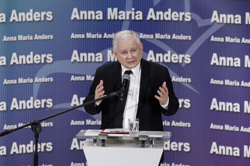 Prezes PiS Jarosław Kaczyński /Artur Reszko /PAP