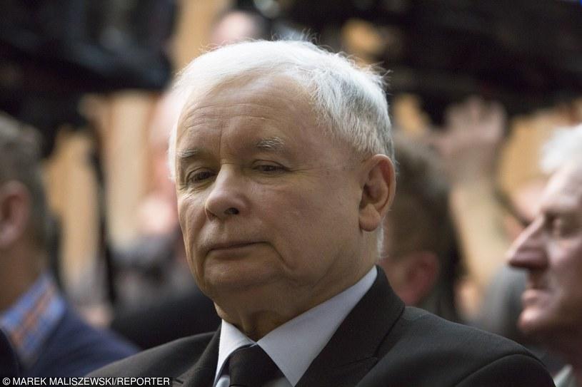 Prezes PiS Jarosław Kaczyński /Marek Maliszewski  /Reporter