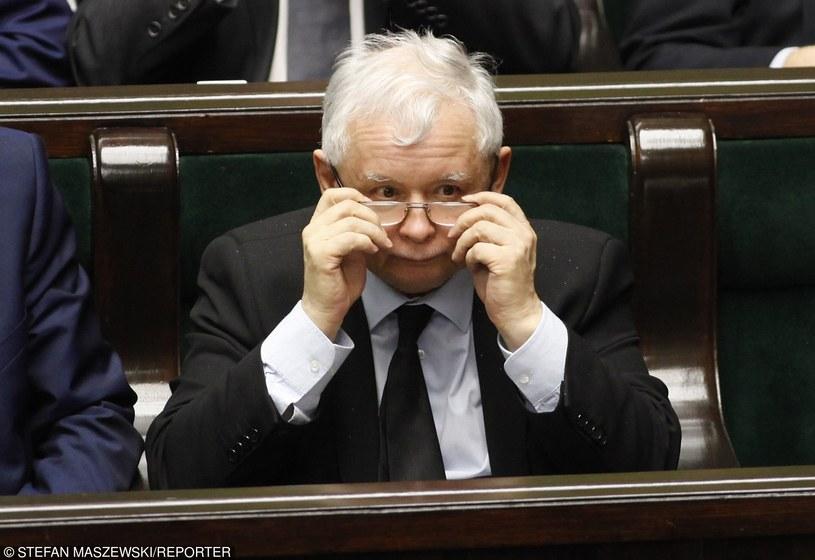 Prezes PiS Jarosław Kaczyński /STEFAN MASZEWSKI/REPORTER /East News