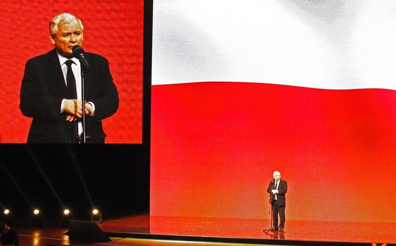 Prezes PiS Jarosław Kaczyński /Marek Lasyk  /Reporter