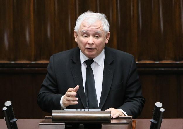 Prezes PiS Jarosław Kaczyński /Paweł Supernak /PAP