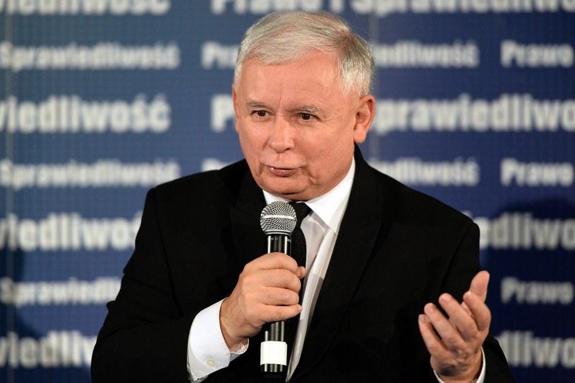Prezes PiS Jarosław Kaczyński /Lukasz Szelemej /East News