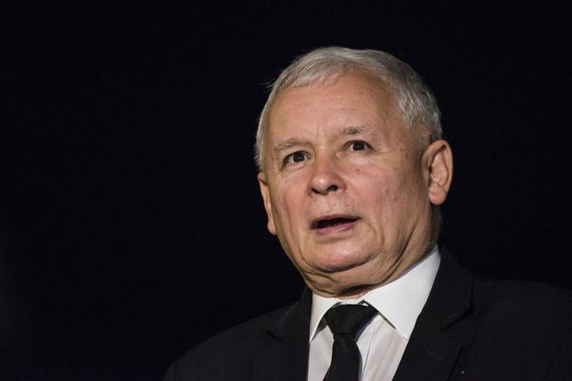 Prezes PiS Jarosław Kaczyński /Jakub Wosik  /Reporter