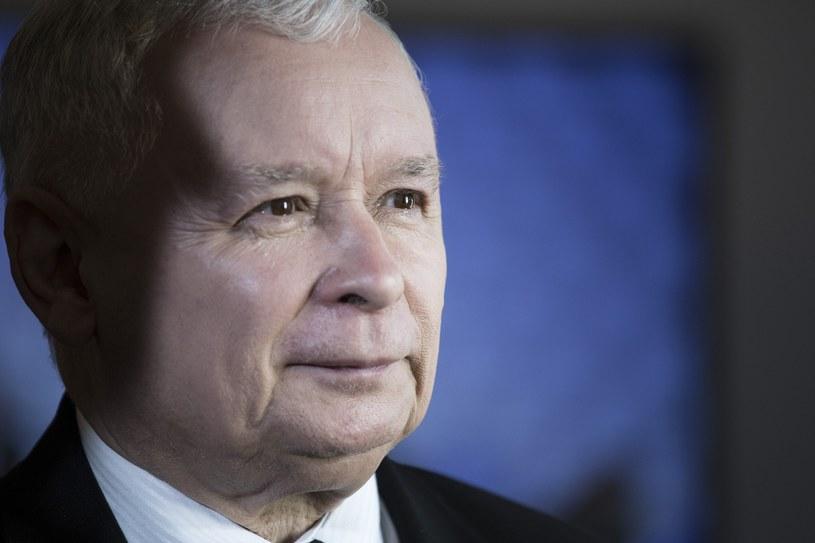 Prezes PiS Jarosław Kaczyński /Maciej Luczniewski /Reporter
