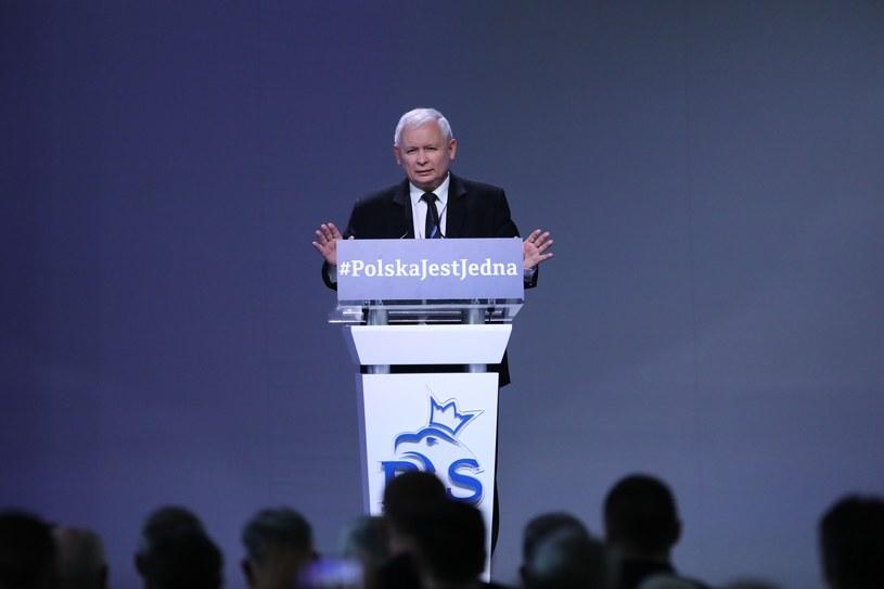 Prezes PiS Jarosław Kaczyński /STANISLAW KOWALCZUK /East News