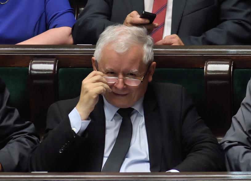 Prezes PiS Jarosław Kaczyński /Adam Chelstowski /Agencja FORUM