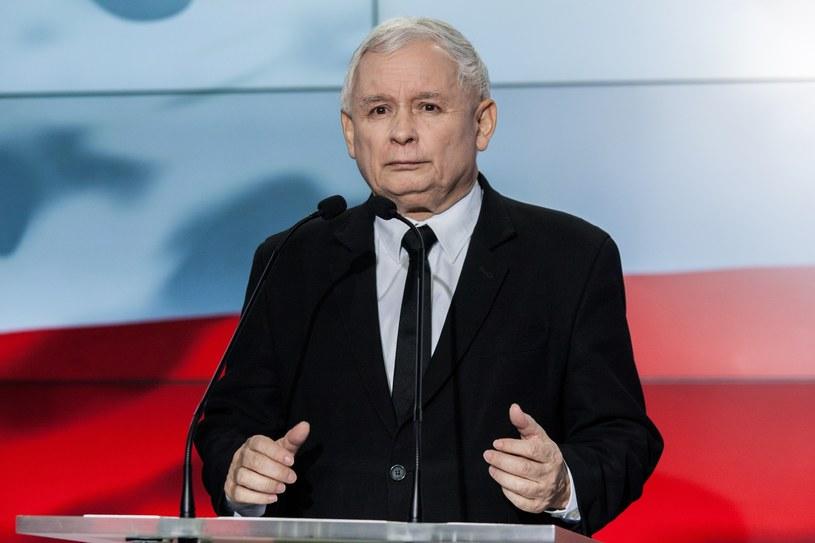 Prezes PiS Jarosław Kaczyński /Pawel Wisniewski /East News