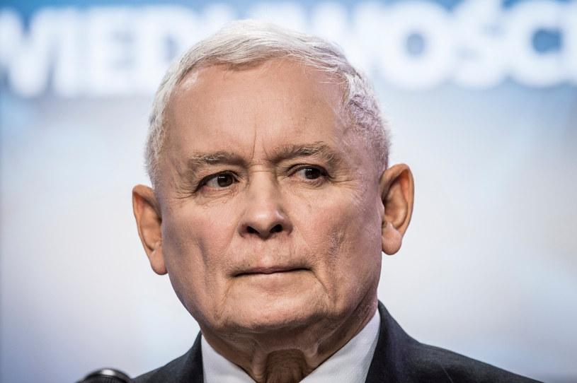 Prezes PiS Jarosław Kaczyński /Jacek Domiński /Reporter
