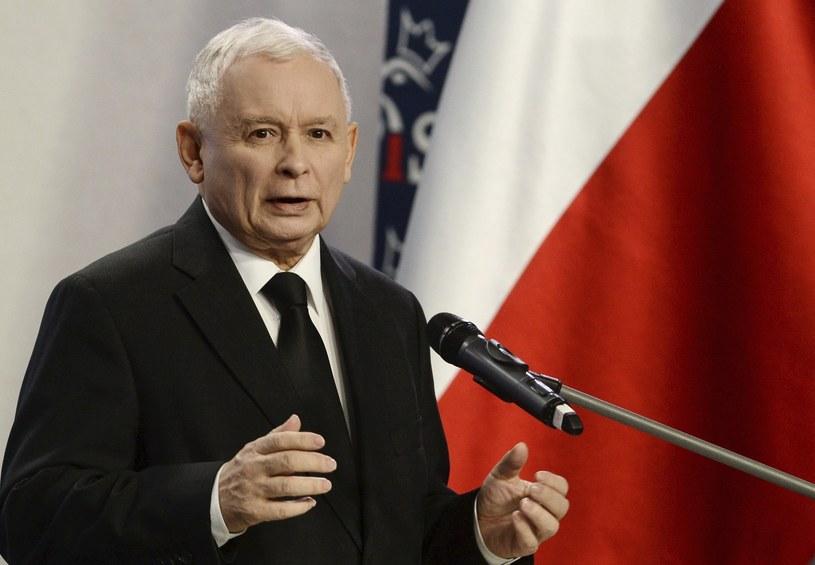 Prezes PiS Jarosław Kaczyński /Alik Keplicz /East News