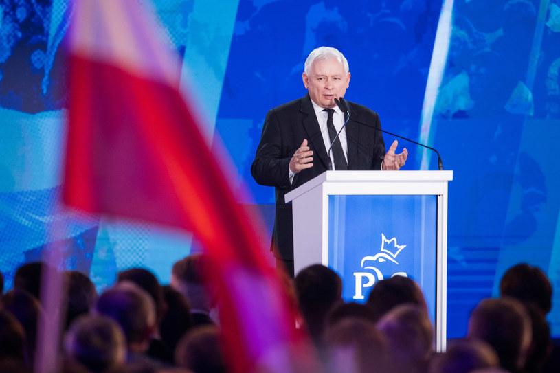 Prezes PiS Jarosław Kaczyński /fot. Andrzej Iwanczuk /Reporter
