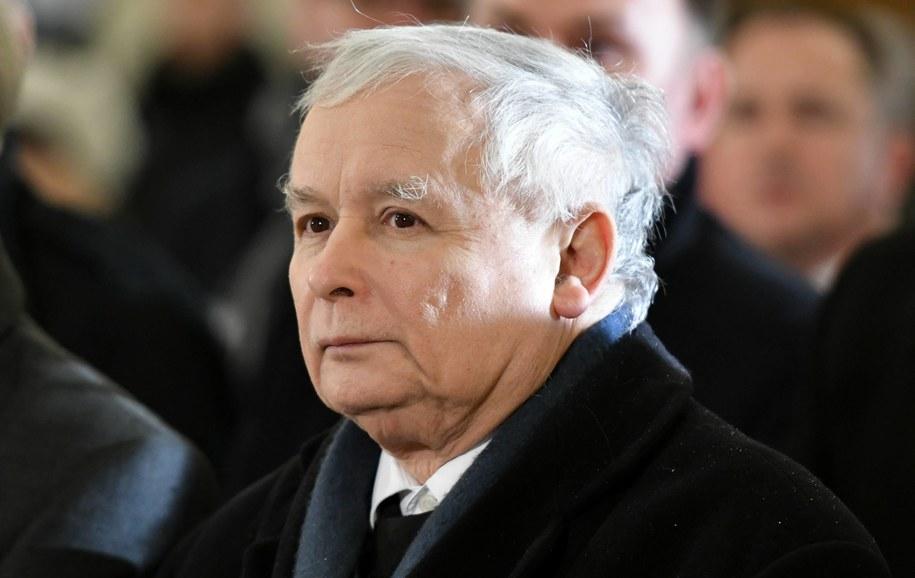 Prezes PiS Jarosław Kaczyński / Piotr Polak    /PAP