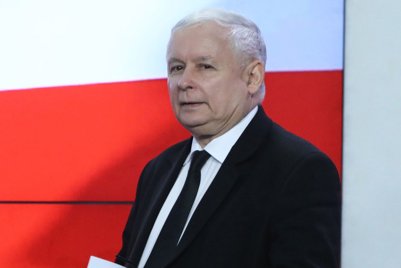 Prezes PiS Jarosław Kaczyński /Stanisław Kowalczuk /East News