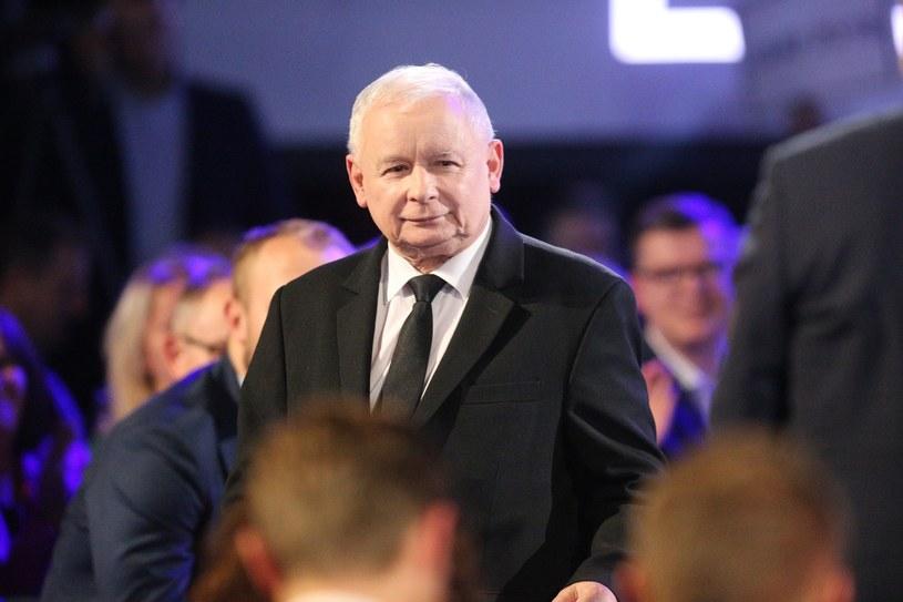 Prezes PiS Jarosław Kaczyński /Kamil Piklikiewicz /East News