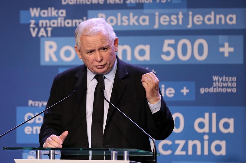 Prezes PiS Jarosław Kaczyński / Grzegorz Momot    /PAP