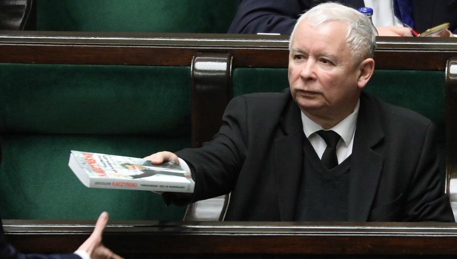 Prezes PiS Jarosław Kaczyński / Tomasz Gzell    /PAP