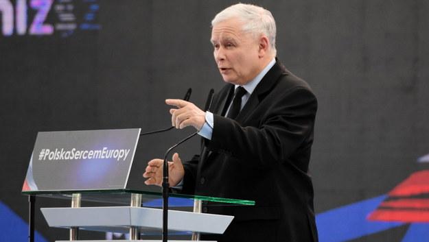 Prezes PiS Jarosław Kaczyński /Darek Delmanowicz /PAP