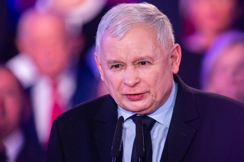 Prezes PiS Jarosław Kaczyński /Maciej Witkowski /Reporter