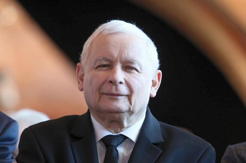 Prezes PiS Jarosław Kaczyński /Leszek Szymański /PAP