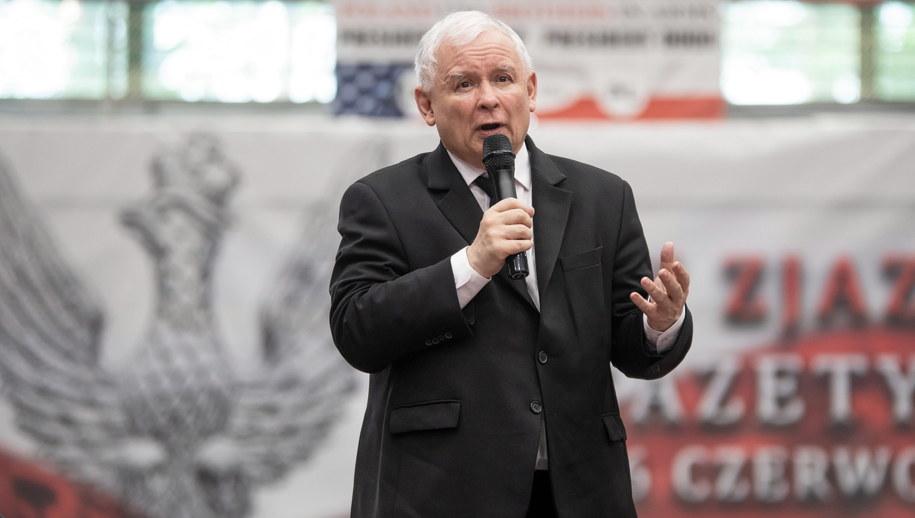 Prezes PiS Jarosław Kaczyński /PAP/Marek Kliński /PAP