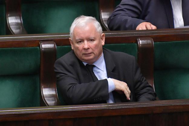 Prezes PiS - Jarosław Kaczyński /Marcin Obara /PAP