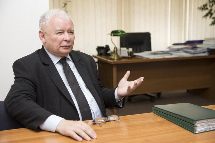 Prezes PiS Jarosław Kaczyński /TOMASZ RADZIK/AGENCJA SE/East News /East News