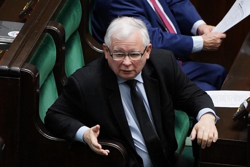 Prezes PiS Jarosław Kaczyński /Mateusz Wlodarczyk /Agencja FORUM