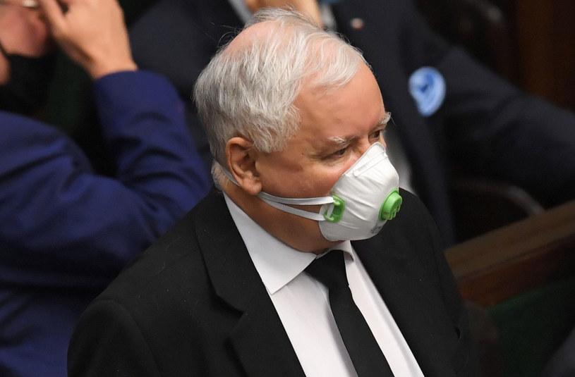 Prezes PiS Jarosław Kaczyński / Radek Pietruszka   /PAP