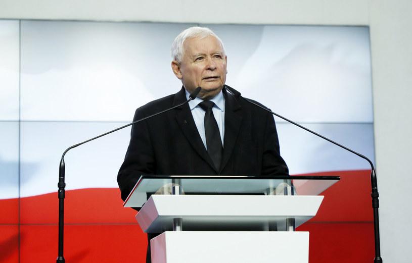 Prezes PiS Jarosław Kaczyński /Piotr Molecki /East News