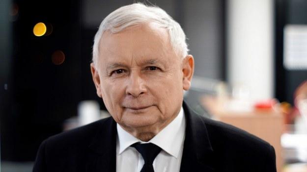 Prezes PiS Jarosław Kaczyński /Michał Dukaczewski /Archiwum RMF FM