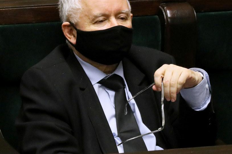 Prezes PiS Jarosław Kaczyński / Jakub Kamiński    /East News