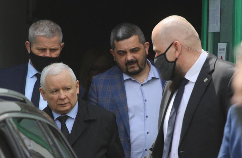 Prezes PiS Jarosław Kaczyński. /Marcin Smulczyński/Agencja SE /East News