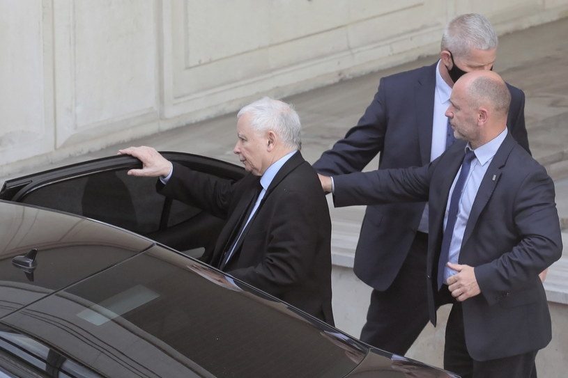 Prezes PiS Jarosław Kaczyński /PAP