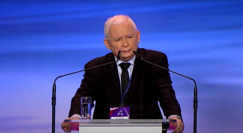 Prezes PiS Jarosław Kaczyński /Prawo i Sprawiedliwość /YouTube