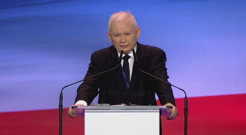 Prezes PiS Jarosław Kaczyński /Polsat News /Polsat News