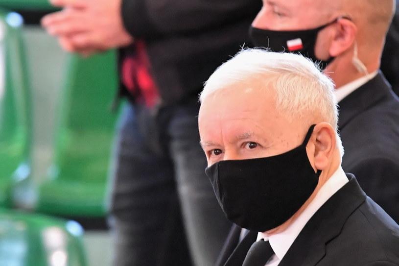 Prezes PiS Jarosław Kaczyński /Piotr Polak /PAP