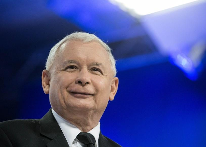 Prezes PiS ma powody do zadowolenia /Andrzej Iwańczuk /East News