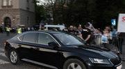 Prezes PiS odwiedził grób Lecha i Marii Kaczyńskich na Wawelu