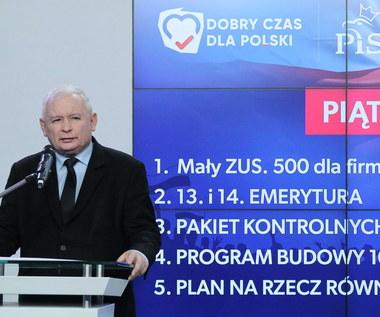 Prezes PiS przedstawił