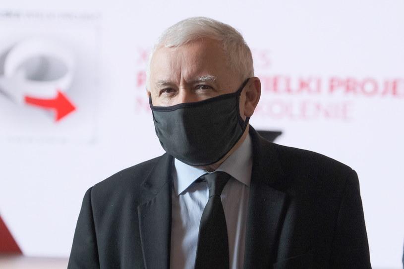 Prezes PiS, wicepremier Jarosław Kaczyński /Mateusz Marek /PAP