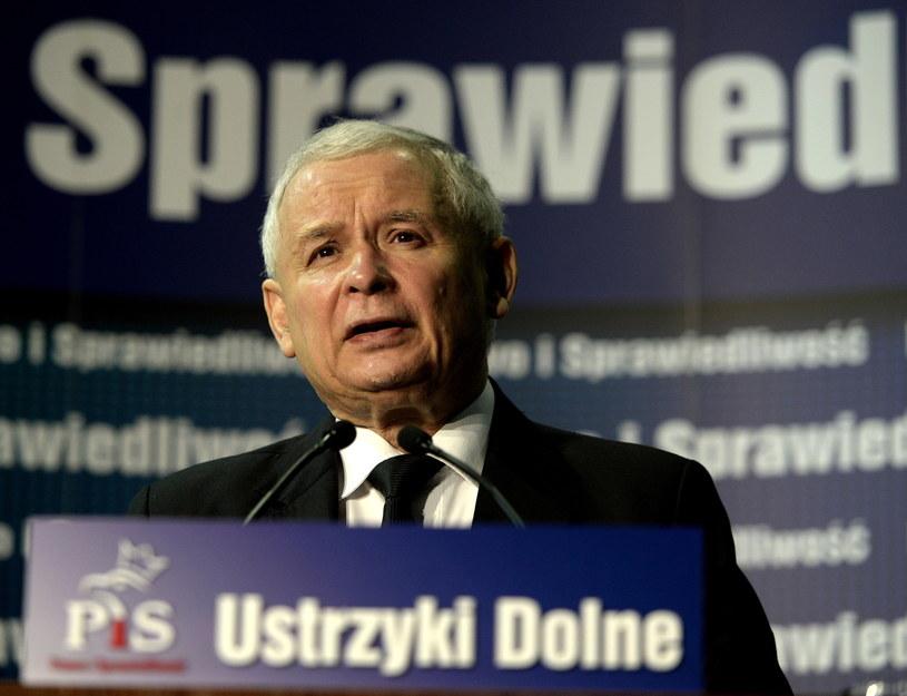 Prezes PiS z wizytą na Podkarpaciu /Darek Delamnowicz /PAP