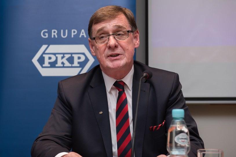 Prezes PKP Krzysztof Mamiński w rządzie Beaty Szydło? /Piotr Korczak /Reporter