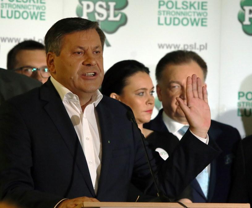 Prezes Polskiego Stronnictwa Ludowego, Janusz Piechociński /Tomasz Gzell /PAP