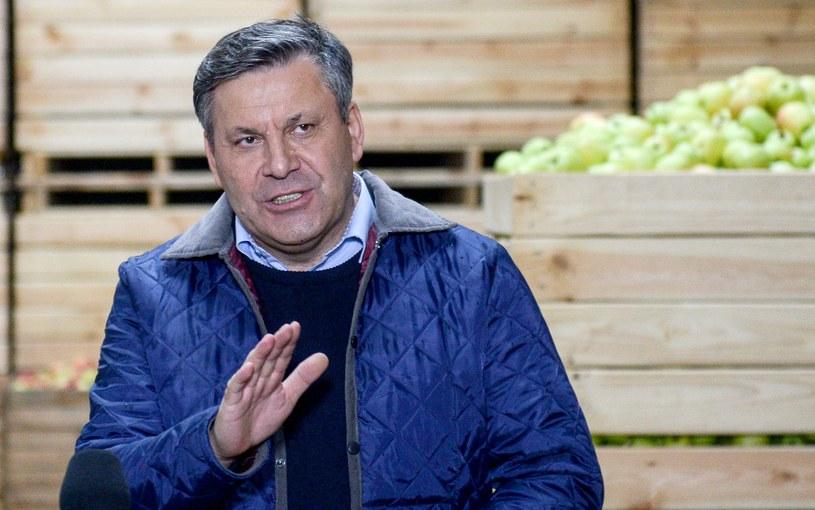 Prezes Polskiego Stronnictwa Ludowego, wicepremier, minister gospodarki Janusz Piechociński /Jakub Kamiński   /PAP